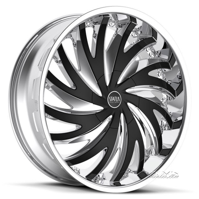 Pictures for STATUS Hurricane S836 chrome w/ black