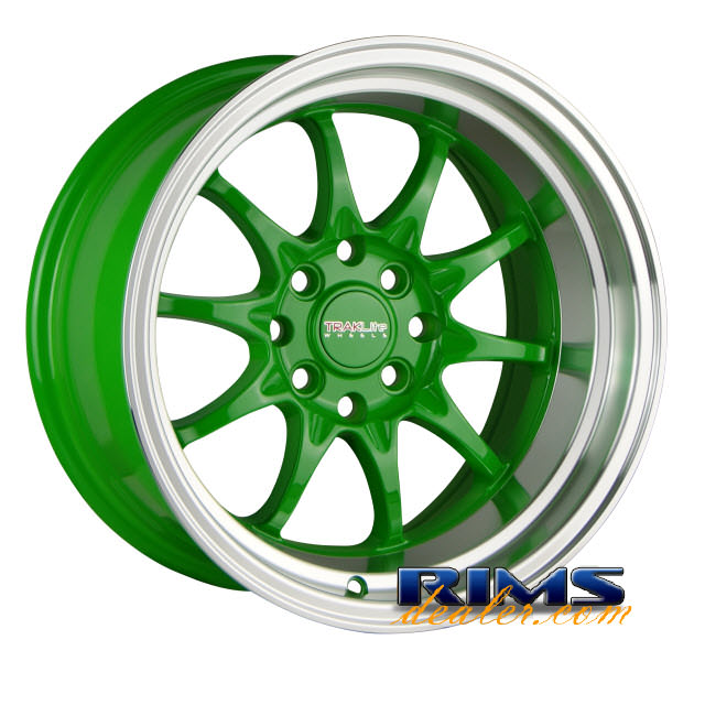 Pictures for TrakLite HOLESHOT polished w/ green