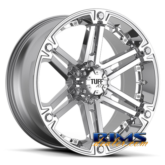 Pictures for Tuff A.T Wheels T01 chrome