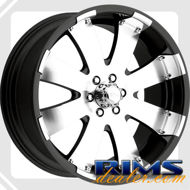 Pictures for ULTRA Mako (243/244) (8-Lug) machined w/ black