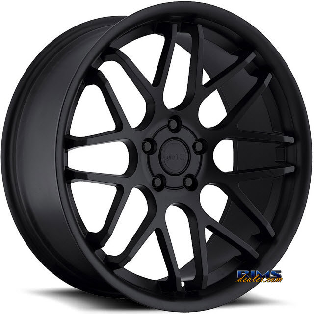 Pictures for euroTEK Wheels UO6 Black Flat