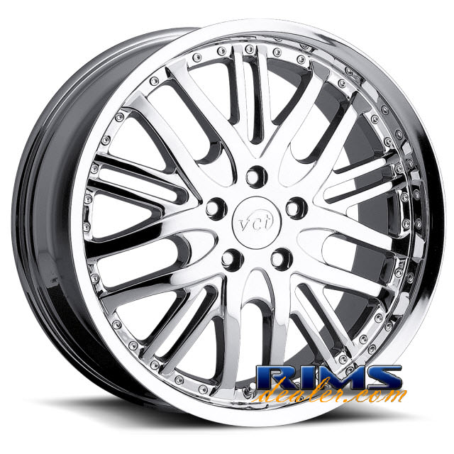 Pictures for VCT Wheels MANZANO chrome