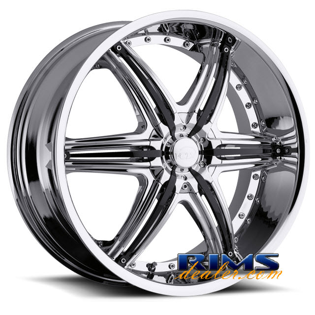 Pictures for VCT Wheels MOBSTER chrome