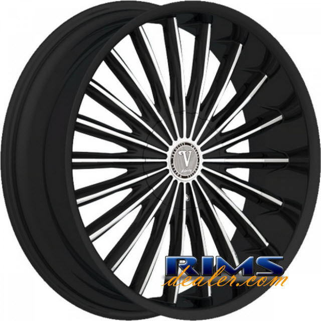 Pictures for Velocity VW11 machined w/ black
