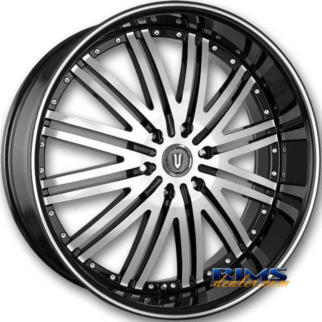 Pictures for Versante 212 machined black w/stripe