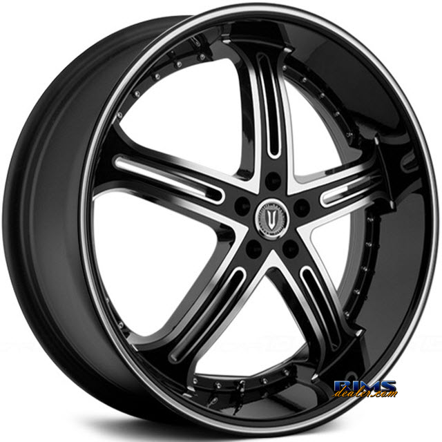 Pictures for Versante 226 machined black w/stripe