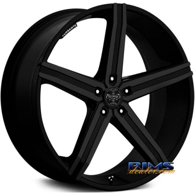 Pictures for Versante 228 black flat