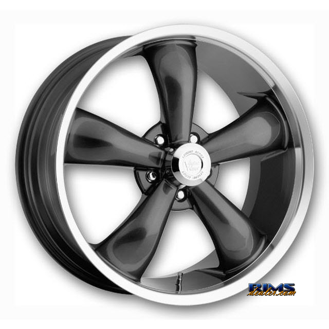 Pictures for Vision Wheel Legend 5 142 142 gunmetal flat