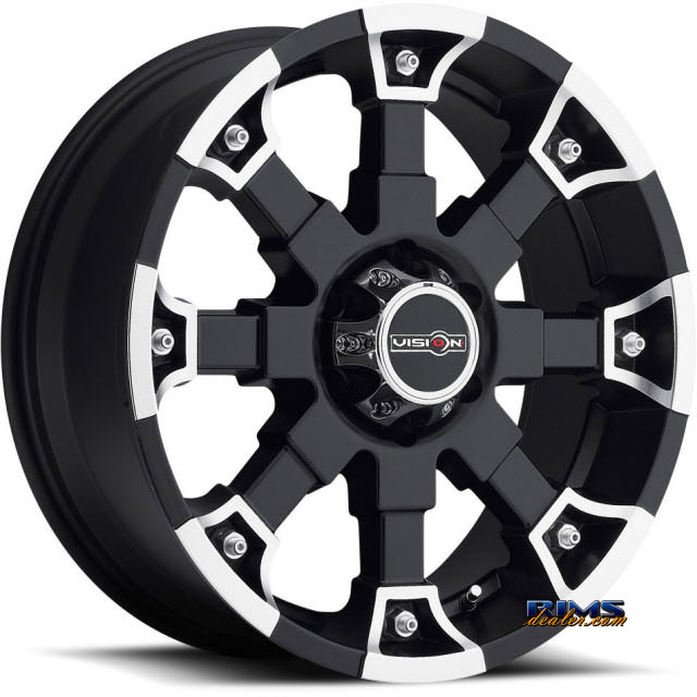 Pictures for Vision Wheel Brutal 392 black flat