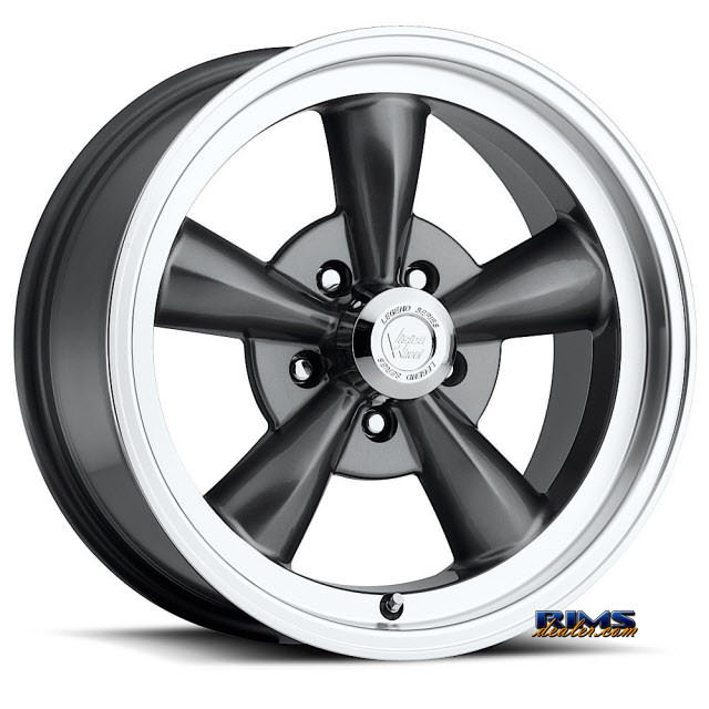Pictures for Vision Wheel Legend 5 141 gunmetal flat
