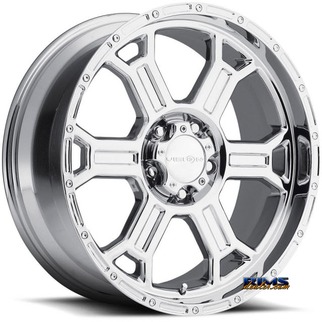 Pictures for Vision Wheel Raptor 372 chrome