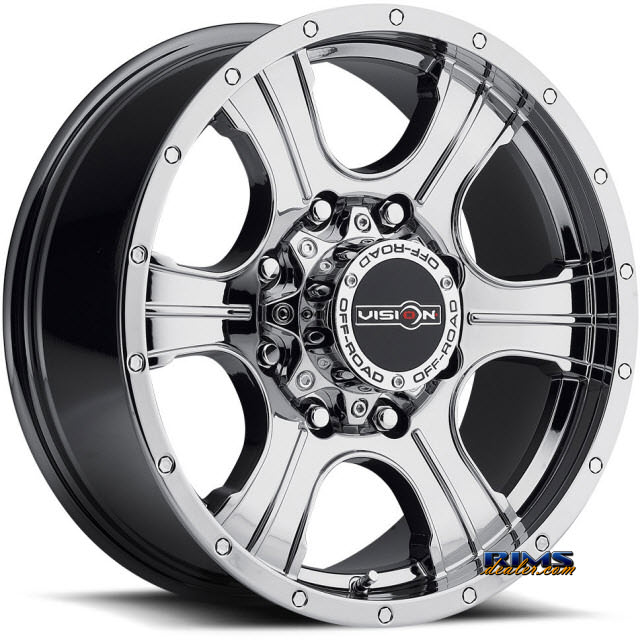 Pictures for Vision Wheel Assassin 396 chrome