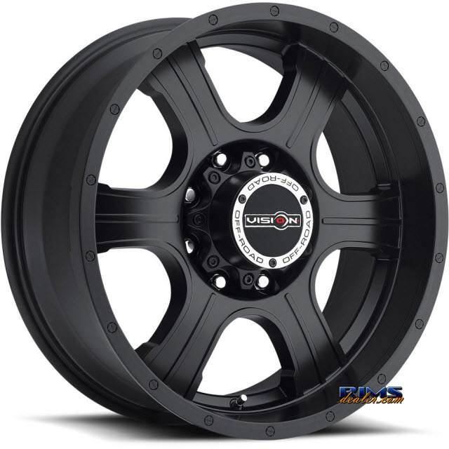 Pictures for Vision Wheel Assassin 396 black flat