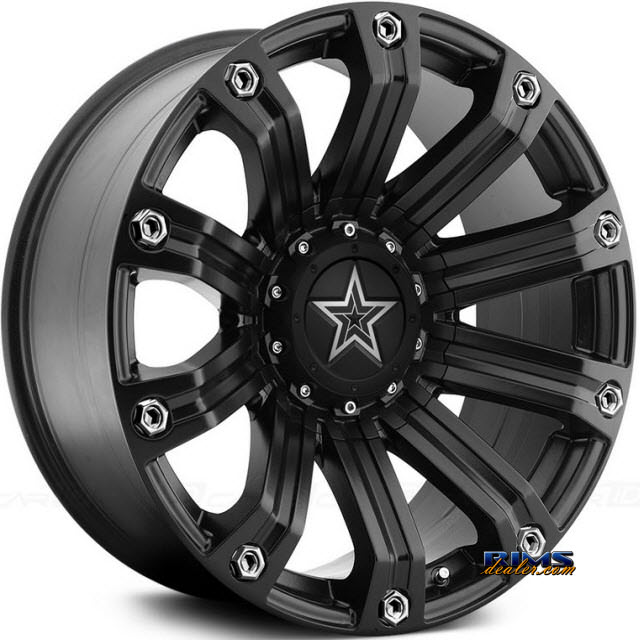 Pictures for TIS Wheels 534B satin black