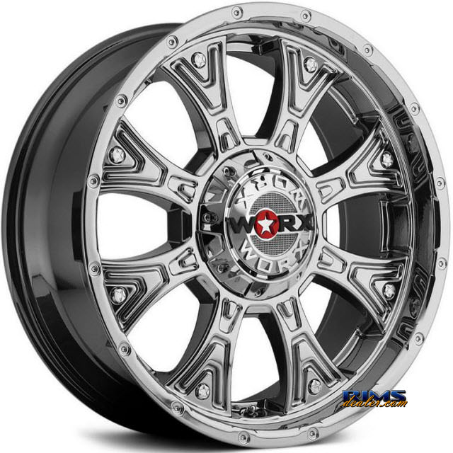 Pictures for Worx Alloy Off-Road 805V TYRANT (PVD) Chrome