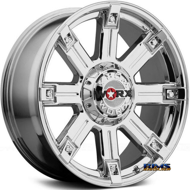 Pictures for Worx Alloy Off-Road 806V TRITON Chrome