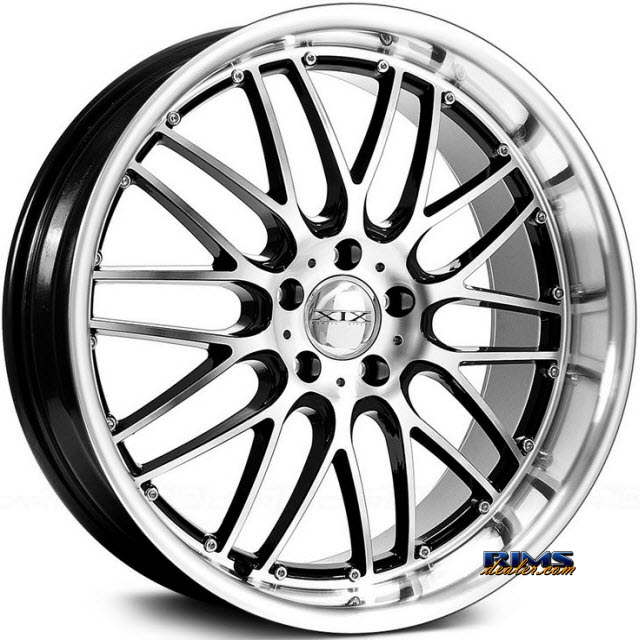 Pictures for XIX Wheels X05 Black Gloss w/ Machined