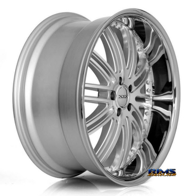 Pictures for XIX Wheels X23 Machined W/ Silver