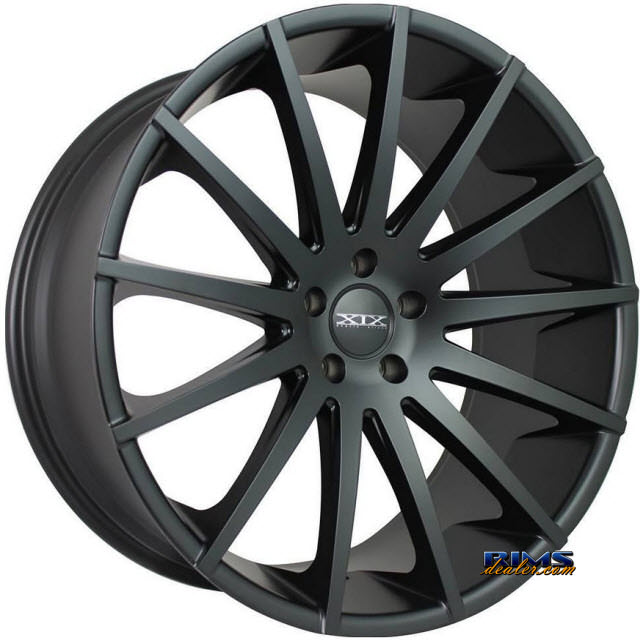 Pictures for XIX Wheels X39 Black Flat