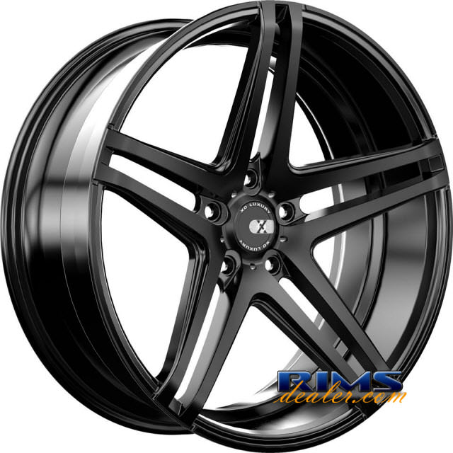 Pictures for XO Luxury Wheels CARACAS black flat