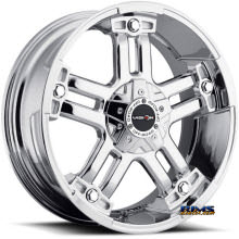 Vision Wheel Warlord 394 chrome
