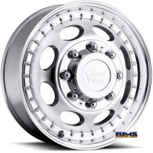 Vision Wheel 181H Hauler Dually machined flat