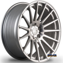 MIRO WHEELS - TYPE 110 - machined w/ silver
