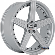 Giovanna Wheels - DUBLIN-5 - machined w/ silver