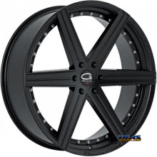 Giovanna Wheels - DUBLIN-6 - black gloss