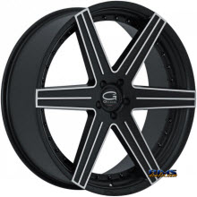 Giovanna Wheels - DUBLIN-6 - machined w/ black
