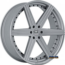 Giovanna Wheels - DUBLIN-6 - machined w/ silver