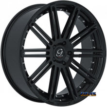 GIANELLE WHEELS - TROPEZ - black gloss