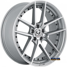 GIANELLE WHEELS - MONACO - machined w/ silver