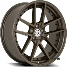 GIANELLE WHEELS - MONACO - bronze flat