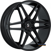 KOKO KUTURE WHEELS - DACONO - black gloss