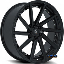 KOKO KUTURE WHEELS - SURREY - black gloss