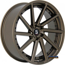 KOKO KUTURE WHEELS - SURREY - bronze flat