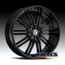 2Crave Rims - No.11 - black flat