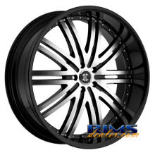 2Crave Rims - No.11 - machined w/ black