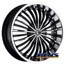 2Crave Rims - No.13 - machined w/ black machined lip