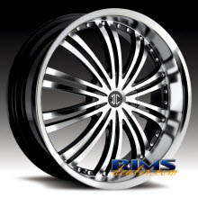 2Crave Rims - No.1 - machined w/ black machined lip