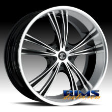 2Crave Rims - No.2 - machined w/ black machined lip
