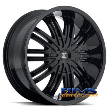 2Crave Rims - No.7 - black gloss
