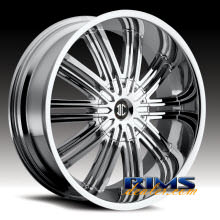 2Crave Rims - No.7 - chrome