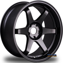 MIRO WHEELS - TYPE 398 - black flat