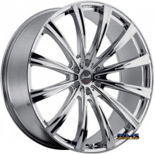 GIANELLE WHEELS - CUBA-12  - chrome