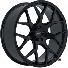 GIANELLE WHEELS - PUERTO - black gloss