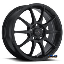 Vision Wheel - Venom 425 - black flat