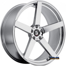 KOKO KUTURE WHEELS - SARDINIA-5 - chrome
