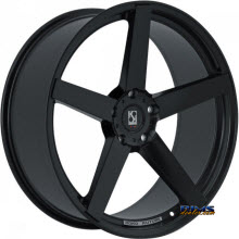 KOKO KUTURE WHEELS - SARDINIA-5 - black gloss
